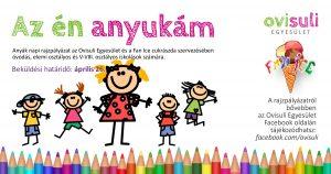 Anyák napi rajzpályázat óvodásoknak és iskolásoknak